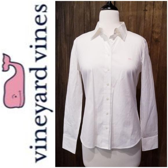 NWT Vineyard Vines Snappy Button Down Shirt Sz M